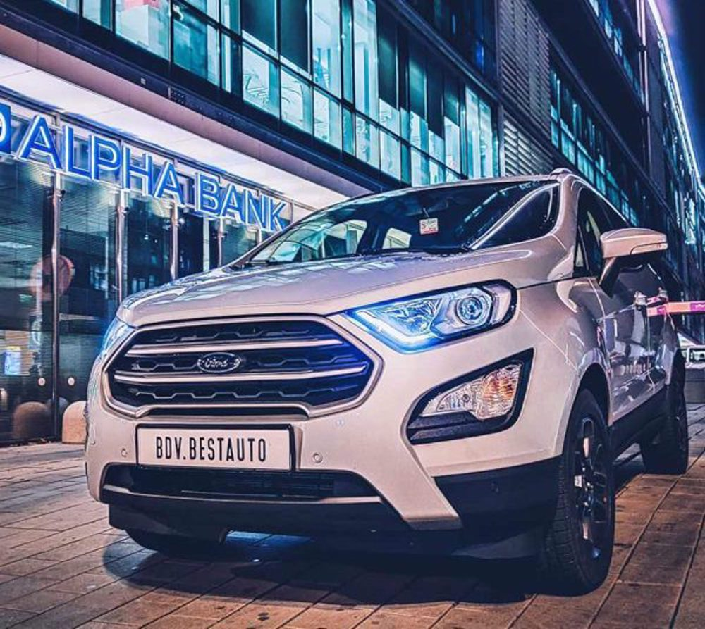 Ford EcoSport - An intelligent and sophisticated car
