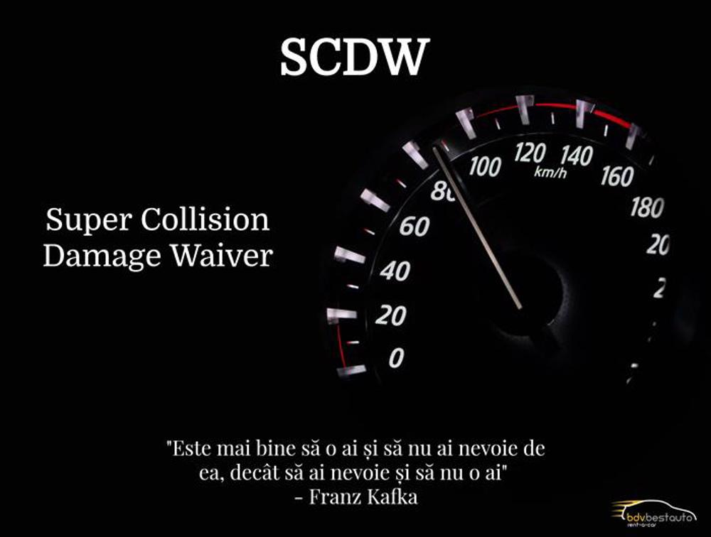 SCDW insurance - Useful information